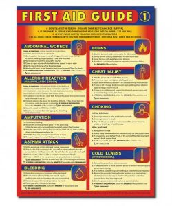 First aid safety posters for sale - buy your first aid posters online