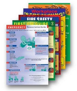 Bulk pack of safety posters for sale for your workplace